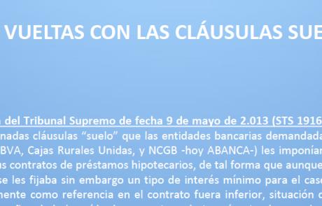 Raul meizoso abogados for Sentencia clausula suelo 2016
